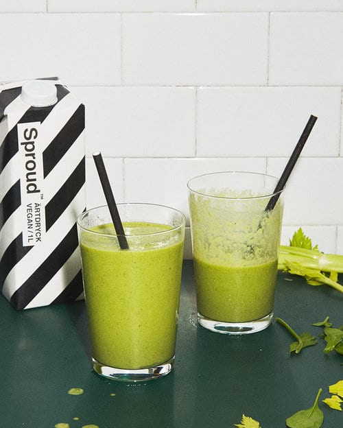 Vegan Green Power Smoothie
