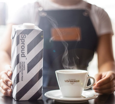 LÖFBERGS COFFEE ROASTERS  <br>PARTNER UP WITH SPROUD